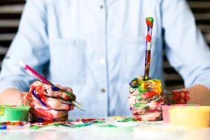 Talent is ook buiten de lijntjes kleuren